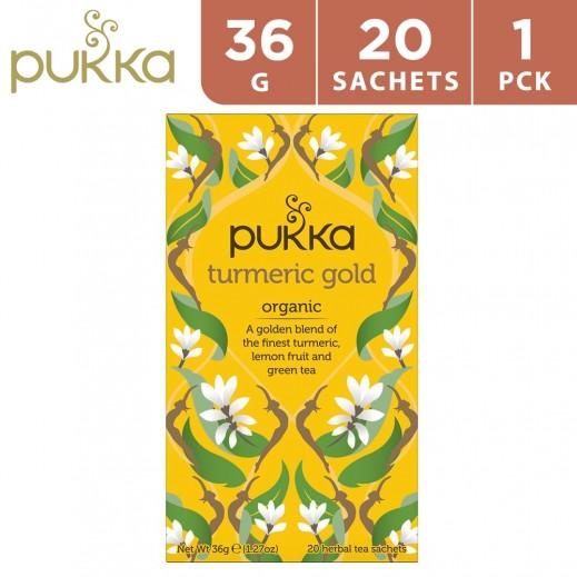 Pukka Turmeric Gold 20 Tea Bags 36 g
