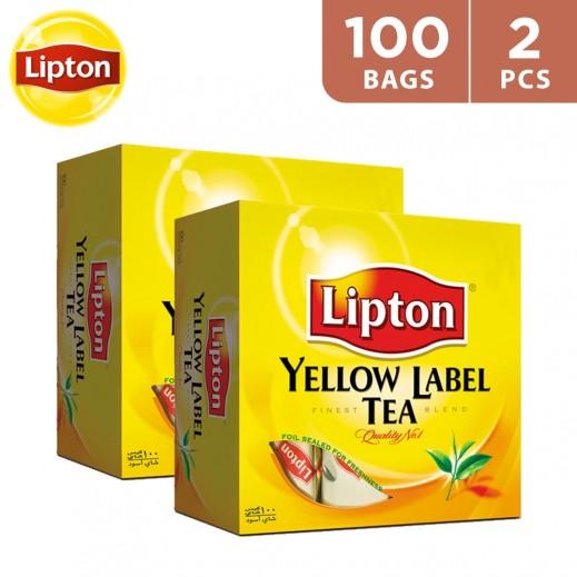 Lipton Yellow Label Tea 2x100 bags