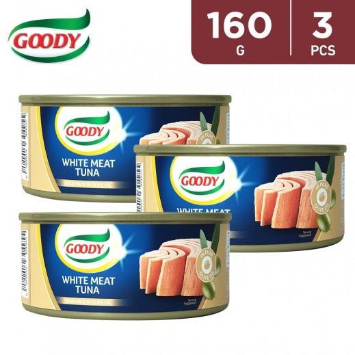 Goody White Meat Tuna with Olive Oil 3 x 160 g