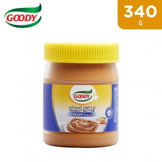 Goody Creamy Peanut Butter Spread 340 g