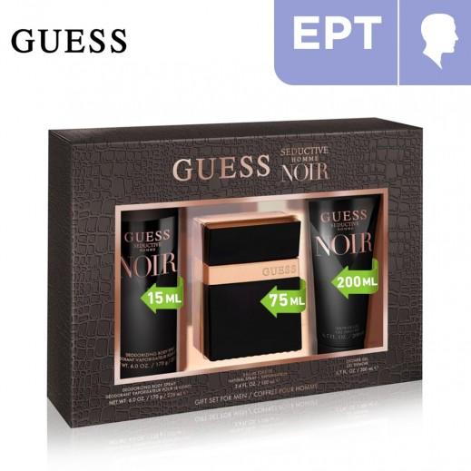 Guess Seductive Noir EDT Gift Set For Men