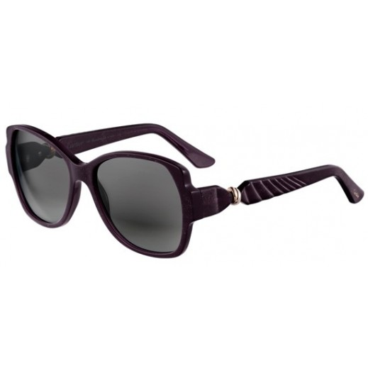 Cartier Trinity De Cartier Purple Ladies Sunglasses - delivered by Waleed Optics