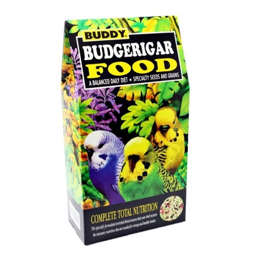 Buddy Budgerigar Food Balanced Daily Diet Seeds & Grains 680 g