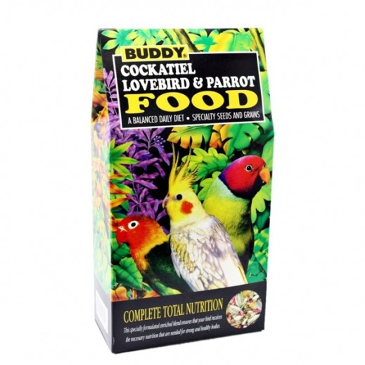 Buddy Cockatiel Lovebird & Parrot Food 680 g