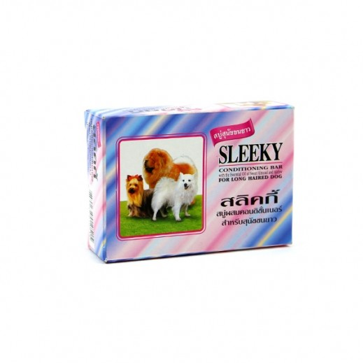 Sleeky Conditioning Soap For Long Haired Dog 75 g