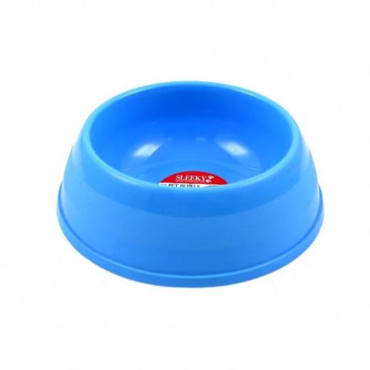 Sleeky Plastic Pet Bowl Medium For Dog