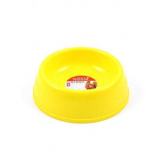 Sleeky Plastic Pet Bowl Small For Dog