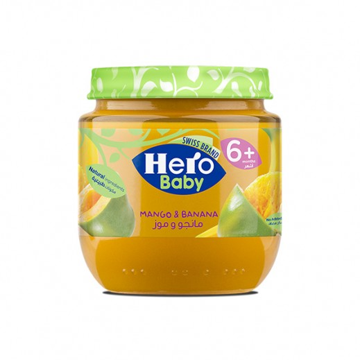 Hero Baby Food Jar - Mango Banana 125 g