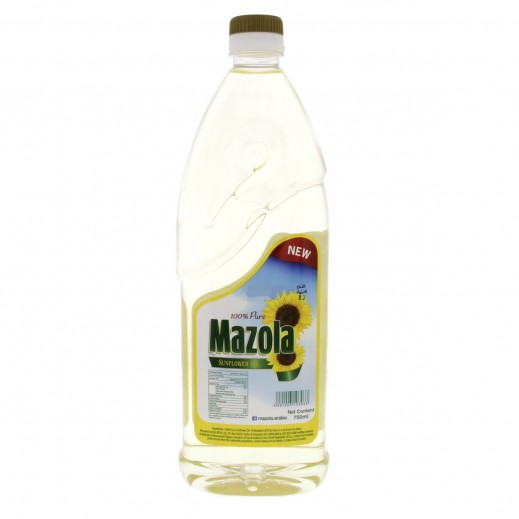 Mazola Sunflower Cooking Oil 750 ml