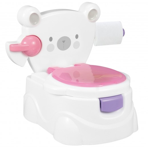Baby Toilet Bear/Pink