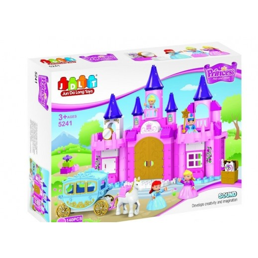 Jun Da Long Toys Princes Blocks 140 Pieces (3+ Years)