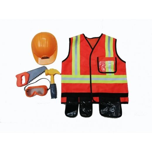 Kids Dress Construction Free size 3 + years