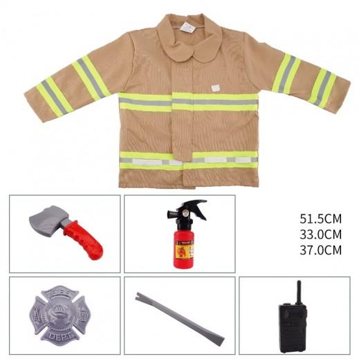 Kids Dress Fire Engine Free size 3 + years