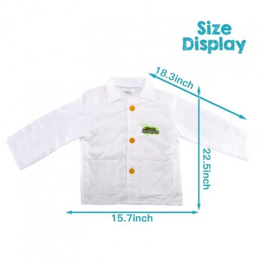 Kids Dress Scientist Free size 3 + years