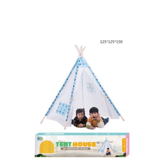 Tent House 125 x 125 x 150 cm Blue