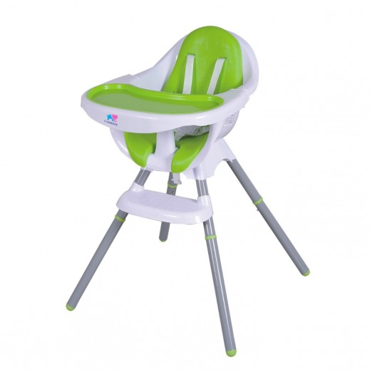 TheKiddoz High Chair Green