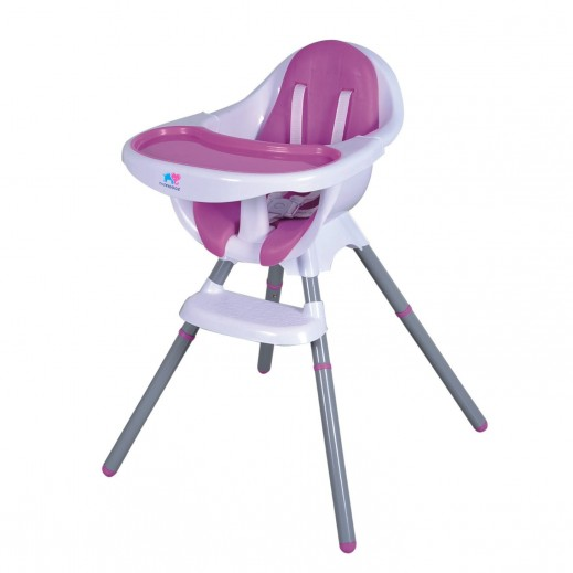 TheKiddoz High Chair Pink