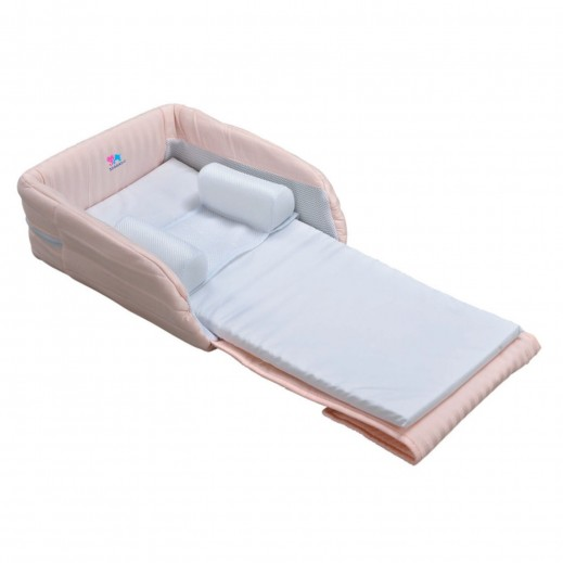 TheKiddoz Baby Little Bed Pink (From 12 Months)