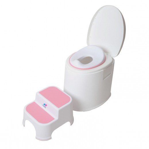TheKiddoz Armrest Baby Potty Training Seat Pink