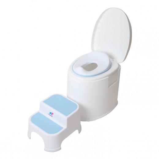 TheKiddoz Armrest Baby Potty Training Seat Blue
