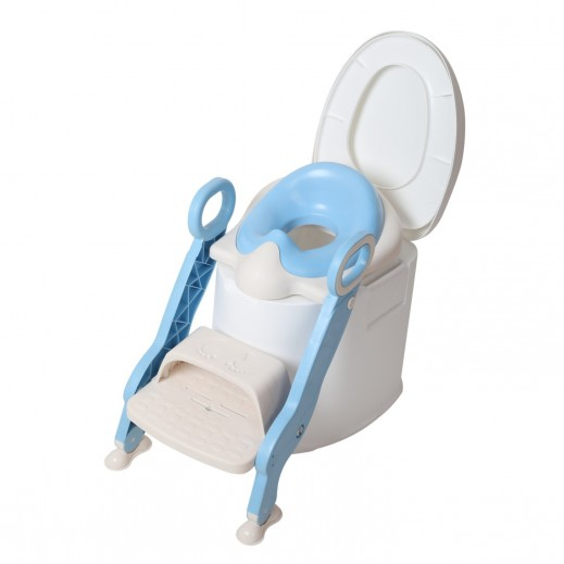 TheKiddoz Steps Baby Potty Training Seat Blue