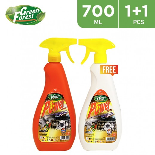 Green Forest Power Oven & Grill Cleaner 700 ml (1 + 1 Free)