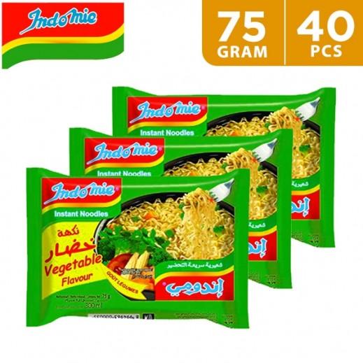 Indomie Vegetable Noodles 5 x 75 g (8 Packs)