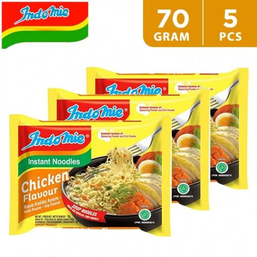Indomie Instant Noodles Chicken  5 x 70 g