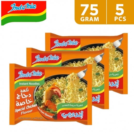Indomie Special Chicken Noodles 5 x 75 g