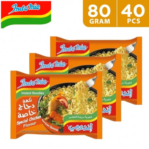Indomie Special Chicken Noodles 5 x 75 g (8 Packs)