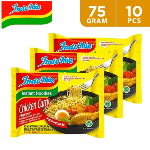 Indomie Instant Noodles Chicken Curry 10 x 75 g