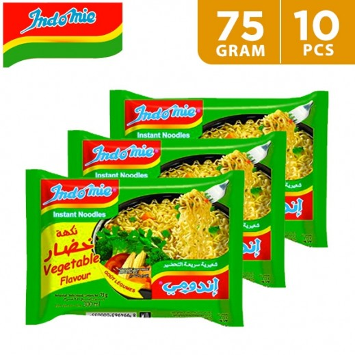 Indomie Instant Vegetable Flavour 10 x 75 g