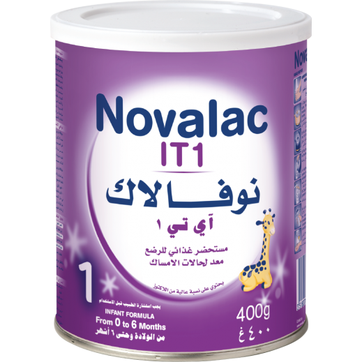Novalac IT1 infant formula 400 g 0-6 months