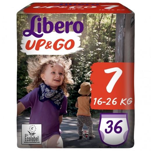 Libero Up & Go Pants Diapers Size 7 (16-26 kg) 36 Pcs