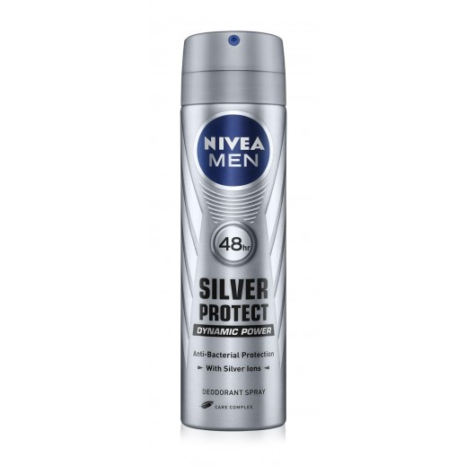 Nivea Men Silver Protect Deodorant Spray 150ml
