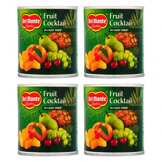 Wholesale - Del Monte Fruit Cocktail In Light Syrup (4 x 227 g)