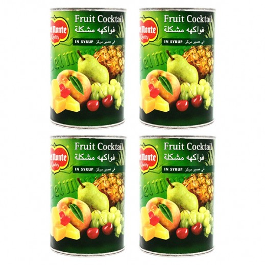 Wholesale - Delmonte Fruit Cocktail In Syrup 420g (4 Pcs)