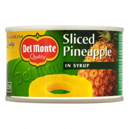 Delmonte Pineapple Sliced In Syrup 235g