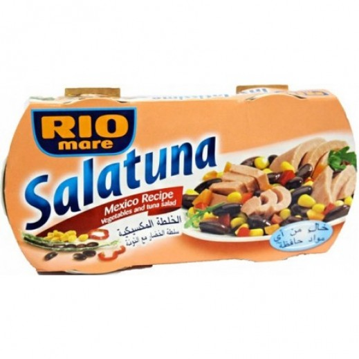 Rio Mare Tuna & Vegetables Salad (Mexico Recipe) 160 g (2 Pieces)