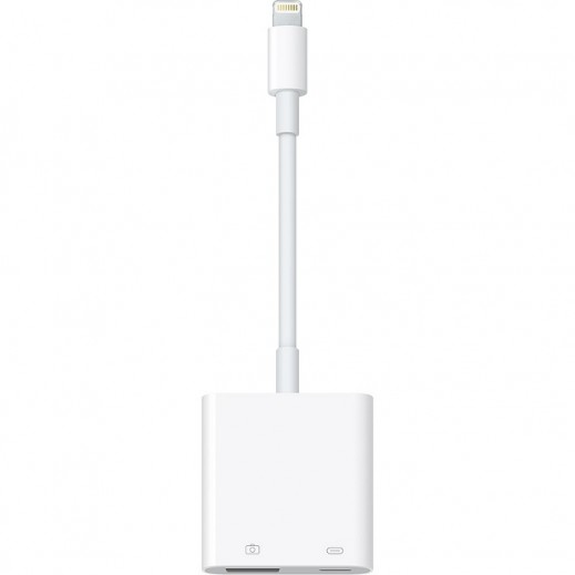 Apple Lightning to USB 3 Camera Adapter - White