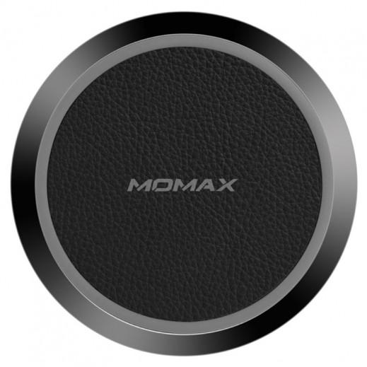 MoMax Fast Wireless Charging Pad - Black