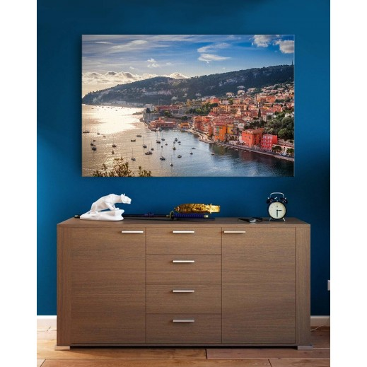 Canvas - Monaco Sun Set by Mohammad Mirza - delivered by Berwaz.com
