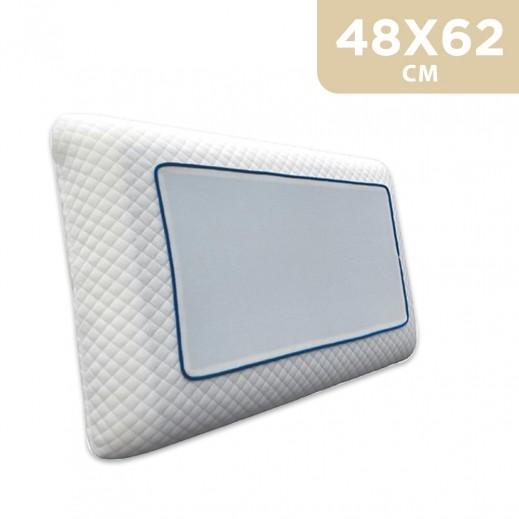 Memory Foam Gel Pillow 48 x 62 cm - delivered by Al Fouz international