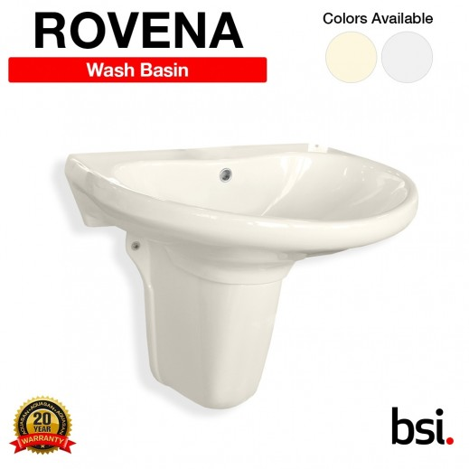 Aquasan Rovena Wash Basin With & Without Mixer - delivered by Aquasan After 3 Working Days