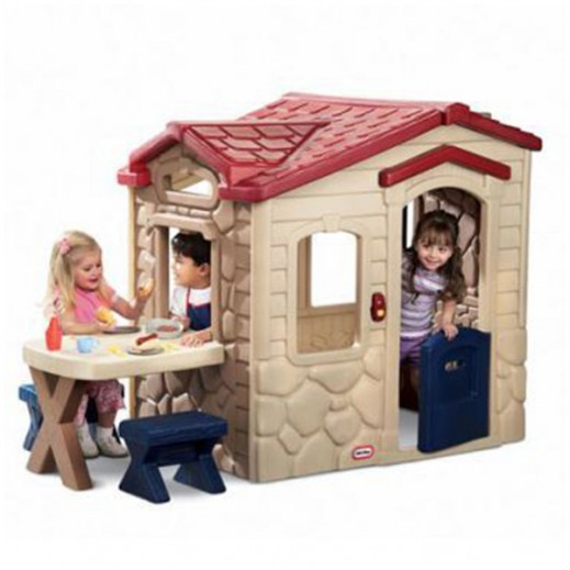Little Tikes Picnic On The Patio Playhouse - delivered by Safari House Within 2 Working Days