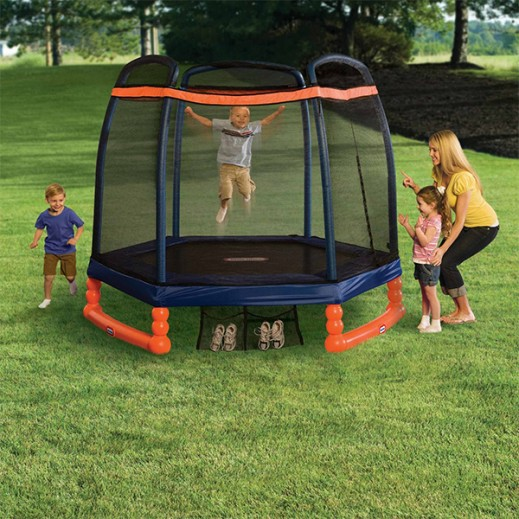 Little Tikes 7 Ft Trampoline - delivered by Safari House Within 2 Working Days