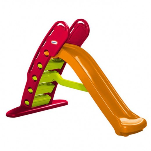 Little Tikes Easy Store Giant Slide - Rainbow - delivered by Safari House