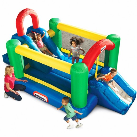 Little Tikes Jump Double Slide Bouncer - delivered by Safari House Within 2 Working Days