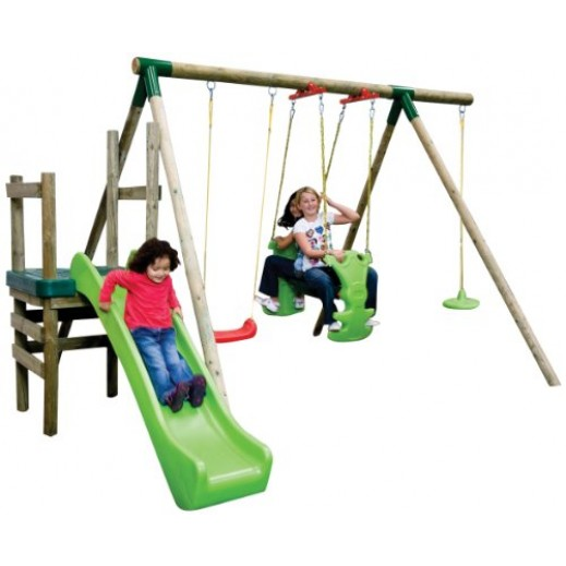 Little Tikes Strasbourg Slide N Swing Set - delivered by Safari House Within 2 Working Days