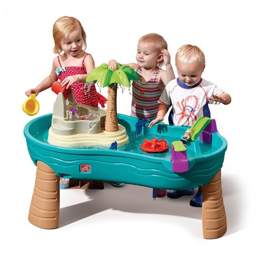 STEP2 Splish Splash Seas Water Table  - delivered by Shahaleel Within 2 Working Days